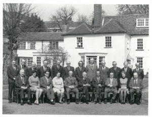 •Bland Fielden senior staff circa 1970.