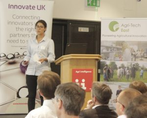 Agronomex - Pascale Martin at the GROW 2017 final