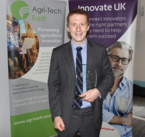 Armand de Durfort, founder of Softharvest, the winner of the student category of GROW