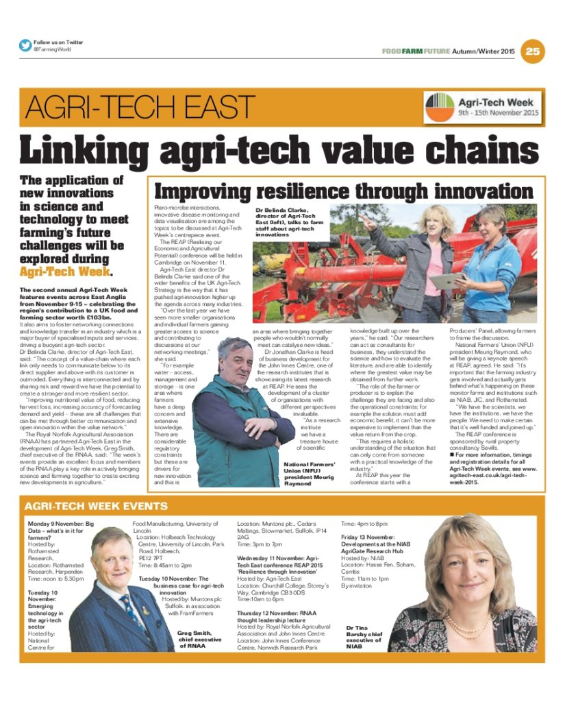 East Anglian Farming World