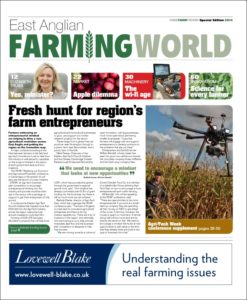 Farming World Issue 1 Front cover