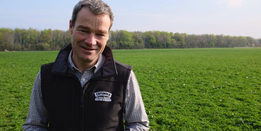 Ian Wilkinson, Managing Director of Cotswold Seeds