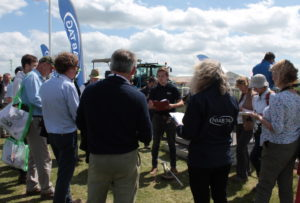 NIAB training session at Cereals 2018