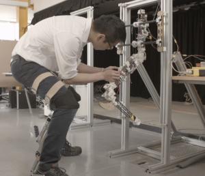Robot leg, Department of Engineering