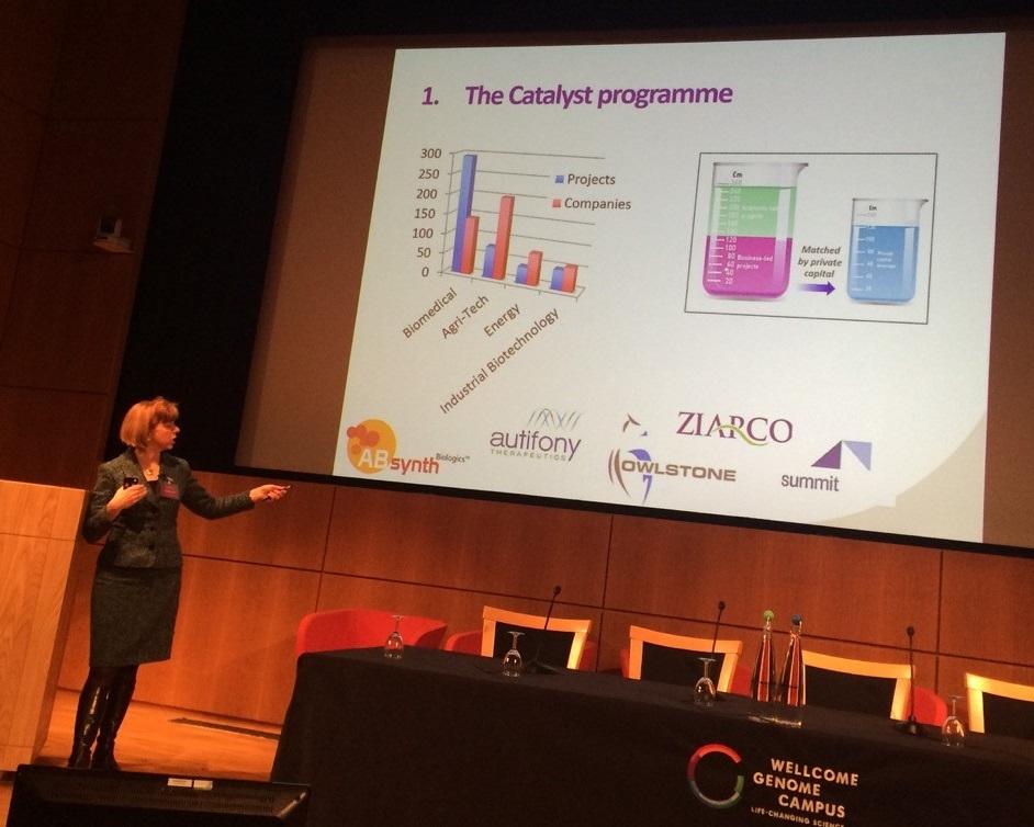 Dr Ruth McKernan at BioBeat15