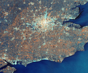 Sentinel-1A London - Copernicus data, ESA (2015)